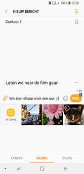 Samsung Galaxy A8 (2018) - MMS - afbeeldingen verzenden - Stap 14
