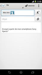 Sony Xpéria Z1 - E-mails - Envoyer un e-mail - Étape 8