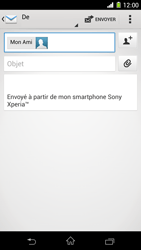 Sony C6903 Xperia Z1 - E-mail - envoyer un e-mail - Étape 7