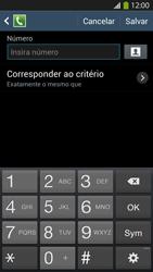 Samsung I9500 Galaxy S IV - Chamadas - Como bloquear chamadas de um número específico - Etapa 9