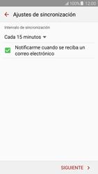 Samsung Galaxy J5 - E-mail - Configurar correo electrónico - Paso 16