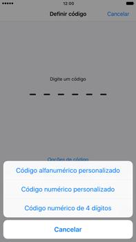 Apple iPhone 7 Plus - Segurança - Ativar o código de bloqueio do ecrã -  6