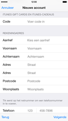 Apple iPhone 6 - Applicaties - Account instellen - Stap 21