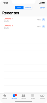 Apple iPhone XR - Chamadas - Como bloquear chamadas de um número específico - Etapa 4