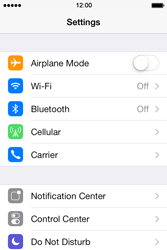 Apple iPhone 4 S iOS 7 - Wi-Fi - Connect to a Wi-Fi network - Step 3