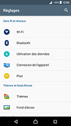 Sony Xperia X - Android Nougat - WiFi et Bluetooth - Configuration manuelle - Étape 4