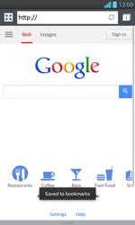 LG E975 Optimus G - Internet - Internet browsing - Step 8