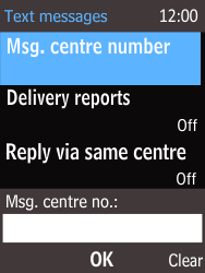 Nokia 220 - SMS - Manual configuration - Step 9