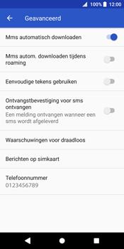 Sony Xperia XZ2 - MMS - probleem met ontvangen - Stap 9
