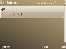 Nokia E72 - Internet - Manual configuration - Step 12