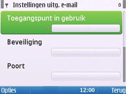 Nokia E5-00 - E-mail - handmatig instellen - Stap 26