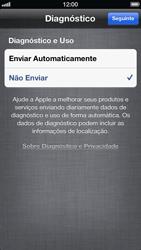 Apple iPhone iOS 6 - Primeiros passos - Como ativar seu aparelho - Etapa 17