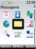Nokia 2720 fold - SMS - Configuration manuelle - Étape 3