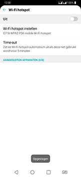 LG g7-fit-dual-sim-lm-q850emw - WiFi - Mobiele hotspot instellen - Stap 8