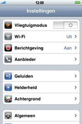 Apple iPhone 4 - Netwerk - Handmatig netwerk selecteren - Stap 6