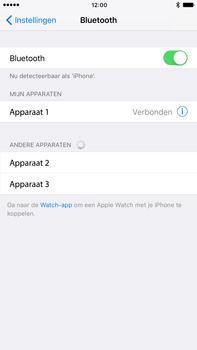 Apple Apple iPhone 6s Plus iOS 10 - Bluetooth - koppelen met ander apparaat - Stap 8