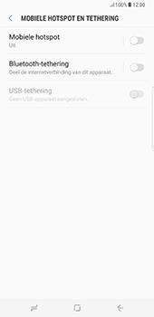 Samsung Galaxy S8 Plus (G955) - WiFi - Mobiele hotspot instellen - Stap 6