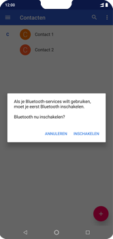 Nokia 7-1 - Contactgegevens overzetten - delen via Bluetooth - Stap 10