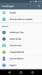 Sony Xperia X Compact (F5321) - Toestel - Fabrieksinstellingen terugzetten - Stap 5