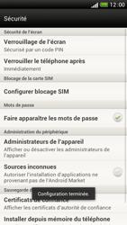 HTC One S - Sécuriser votre mobile - Activer le code de verrouillage - Étape 11