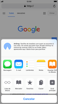 Apple iPhone 8 Plus - Dados - Como utilizar o web browser -  17