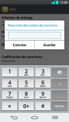 LG G2 - Mensajería - Configurar el equipo para mensajes de texto - Paso 8