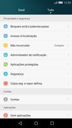 Huawei P8 Lite - Segurança - Como ativar o código PIN do cartão de telemóvel -  3