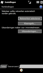 Samsung I8000 Omnia II - Internet - Handmatig instellen WM 6.5 - Stap 16