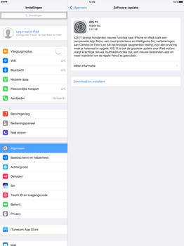 Apple iPad Pro 12.9 inch (Model A1671) - Software updaten - Update installeren - Stap 5