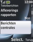 Nokia 2330 classic - SMS - handmatig instellen - Stap 6