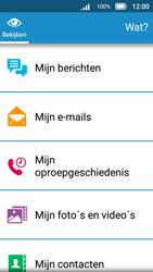 Doro 8031 - SMS en MMS - Handmatig instellen - Stap 4