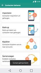 LG G5 SE - Android Nougat (LG-H840) - Contacten en data - Contacten kopiëren van SIM naar toestel - Stap 13