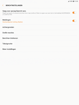 Samsung Galaxy Tab S2 9.7 - Android Nougat - SMS - Handmatig instellen - Stap 6