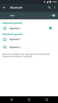 Google Nexus 6 - Bluetooth - headset, carkit verbinding - Stap 8