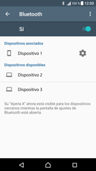Sony Xperia X - Bluetooth - Conectar dispositivos a través de Bluetooth - Paso 8