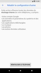 Google Pixel 2 - Device maintenance - Retour aux réglages usine - Étape 8