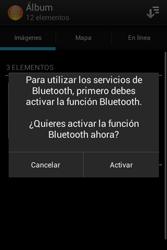 Sony Xperia E - Bluetooth - Transferir archivos a través de Bluetooth - Paso 9