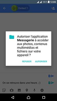 Sony Xperia L1 - Contact, Appels, SMS/MMS - Envoyer un MMS - Étape 10