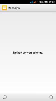 Alcatel Pop C9 - Mensajería - Configurar el equipo para mensajes de texto - Paso 4