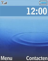 Samsung E1270 - Contacten en data - Contacten kopiëren van toestel naar SIM - Stap 1