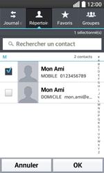 LG F70 - Contact, Appels, SMS/MMS - Envoyer un SMS - Étape 7