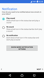 Sony Xperia XZ (F8331) - E-mail - Manual configuration (outlook) - Step 14