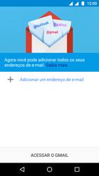 Motorola Moto G5 - Email - Como configurar seu celular para receber e enviar e-mails - Etapa 5
