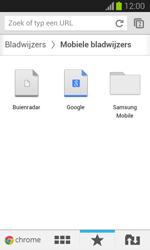Samsung S7390 Galaxy Trend Lite - Internet - Hoe te internetten - Stap 17