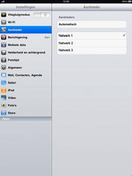 Apple iPad - Internet - In het buitenland - Stap 4