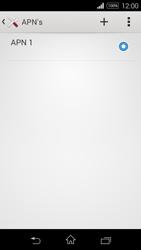 Sony Xperia E3 - Internet - handmatig instellen - Stap 9