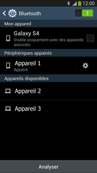 Samsung Galaxy S4 - Internet et connexion - Connexion avec un équipement multimédia via Bluetooth - Étape 9