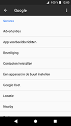 Sony Xperia XZ1 Compact - Beveiliging en privacy - zoek mijn mobiel activeren - Stap 5