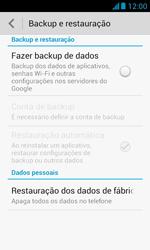Huawei Y340 - Funções básicas - Como restaurar as configurações originais do seu aparelho - Etapa 8