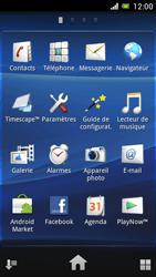 Sony Ericsson Xpéria Arc - Aller plus loin - Restaurer les paramètres d'usines - Étape 3